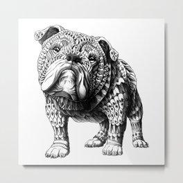 English Bulldog Metal Print