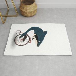 Late whale Rug