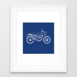Wind to the Wave Framed Art Print