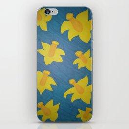 Pop Art Daffodils iPhone Skin