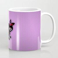 minnie Mugs featuring Minnie by Karen Strempel