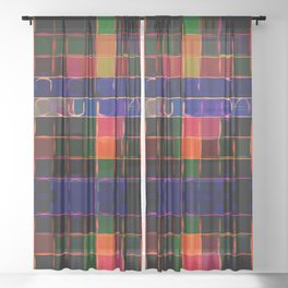 Lost in Translation Sheer Curtain