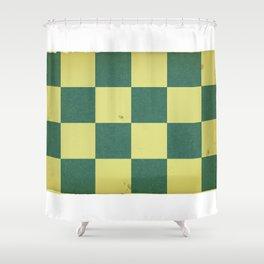 Vinatge Nautical Flag Shower Curtain
