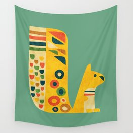 Century Squirrel Wall Tapestry