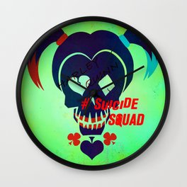 """Harley Quinn """"Suicide Squad"""" Wall Clock"""