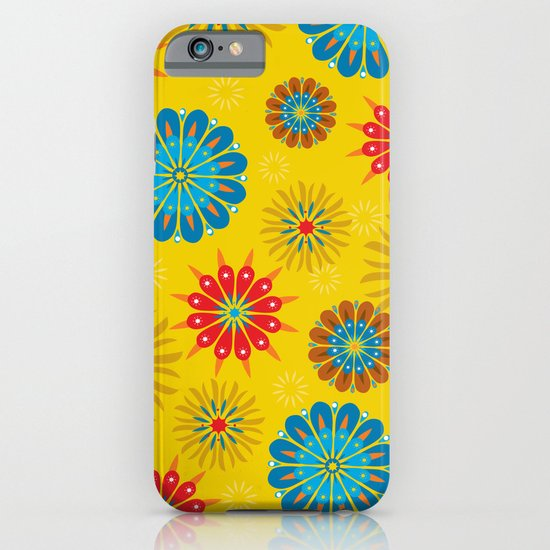 Psycho Flower Gold iPhone & iPod Case
