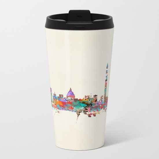 Washington dc skyline Metal Travel Mug