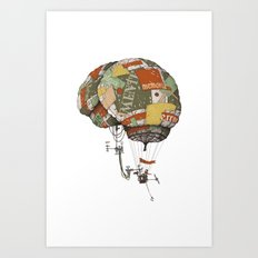 brain kludge Art Print