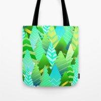 portland Tote Bags featuring Portland by Maura McGonagle