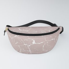 Abstract coral textures on soft paper Fanny Pack