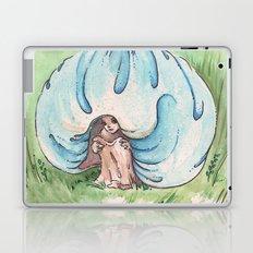 Empire of Mushrooms: Blue Leratiomyces Laptop & iPad Skin