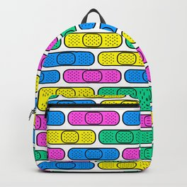 get well colorful band aids Backpack