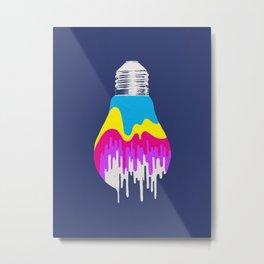Colors of Light Metal Print
