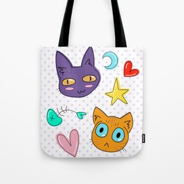 Cosmic Kitties Tote Bag
