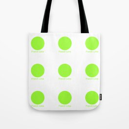 French Lime Tote Bag