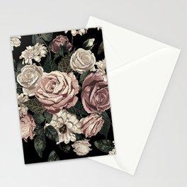 Rose Flower Pattern  Stationery Cards