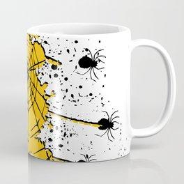 Spiderweb spiders ink splash Coffee Mug