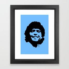 Maradona Framed Art Print