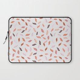 Falling Leaves Seamless Pattern Laptop Sleeve