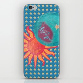zakiaz sun moon stars iPhone Skin