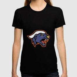 Angry Honey Badger Mascot T-shirt