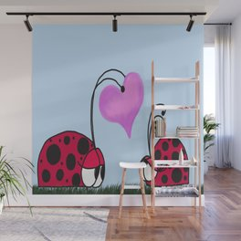 I Give You My Heart Wall Mural