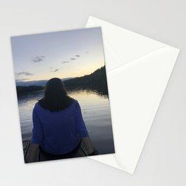 The sun sets on childhood Stationery Cards