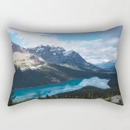 Peyto Lake, Banff National Park Rectangular Pillow