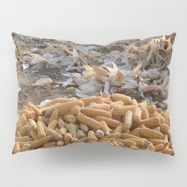 Sweet Corn and Husks Pillow Sham