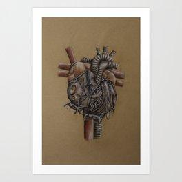 Circulatory Machine Art Print