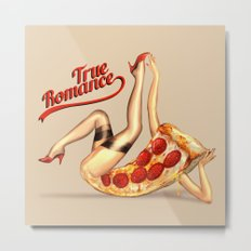 Hot Pizza! Metal Print