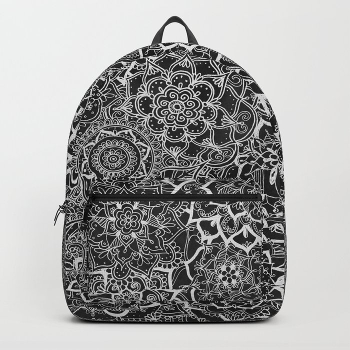 Delicate Lace Mandala Pattern Backpack