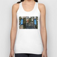 architecture Tank Tops featuring architecture Facade by Karl-Heinz Lüpke