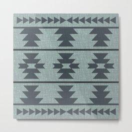 Southwestern Pattern 140 Metal Print