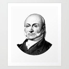 President John Quincy Adams Graphic Art Print
