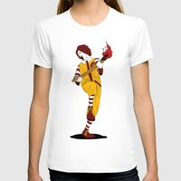 french fries T-shirts featuring McDonald's Burn French Fries by pexkung