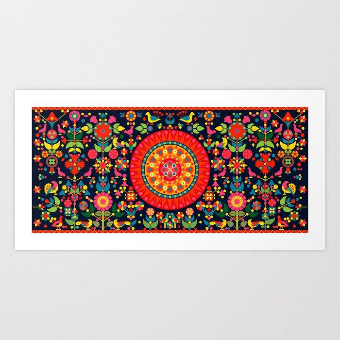 Wayuu Tapestry - I Kunstdrucke