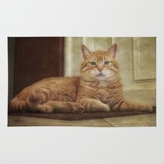 Cattitude Is Everything. Rug