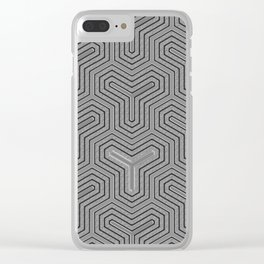 Odd one out Geometric Clear iPhone Case