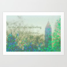 In The Air There's A Feeling Art Print