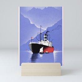 Nautical Art 95 Mini Art Print