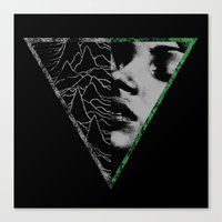 joy division Canvas Prints featuring Joy Division by carlyborror