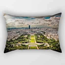Paris from the Eiffel Tower Rectangular Pillow