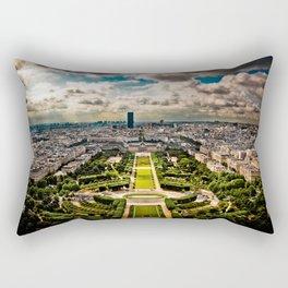 Paris from the Eiffel Tower Rectangular Pillow