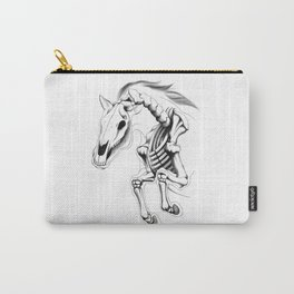 Skeleton Horse Carry-All Pouch