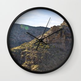 Mount Lemmon Wall Clock