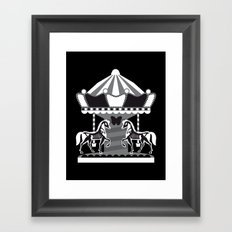 Merry Go 'Round, Part II Framed Art Print