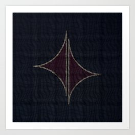 Geometric BP Art Print