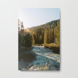 River at the Trailhead Metal Print