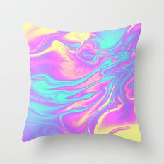 R U MINE ? Throw Pillow